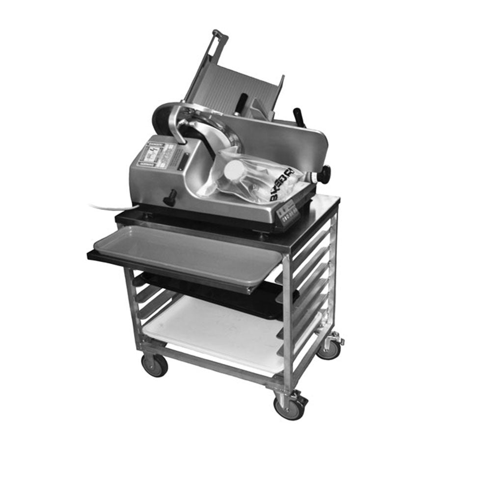 PVI Food Service Slicer-Mixer-Scale Cart