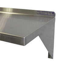 PVI Food Service Stainless Steel Wall Mount Shelf