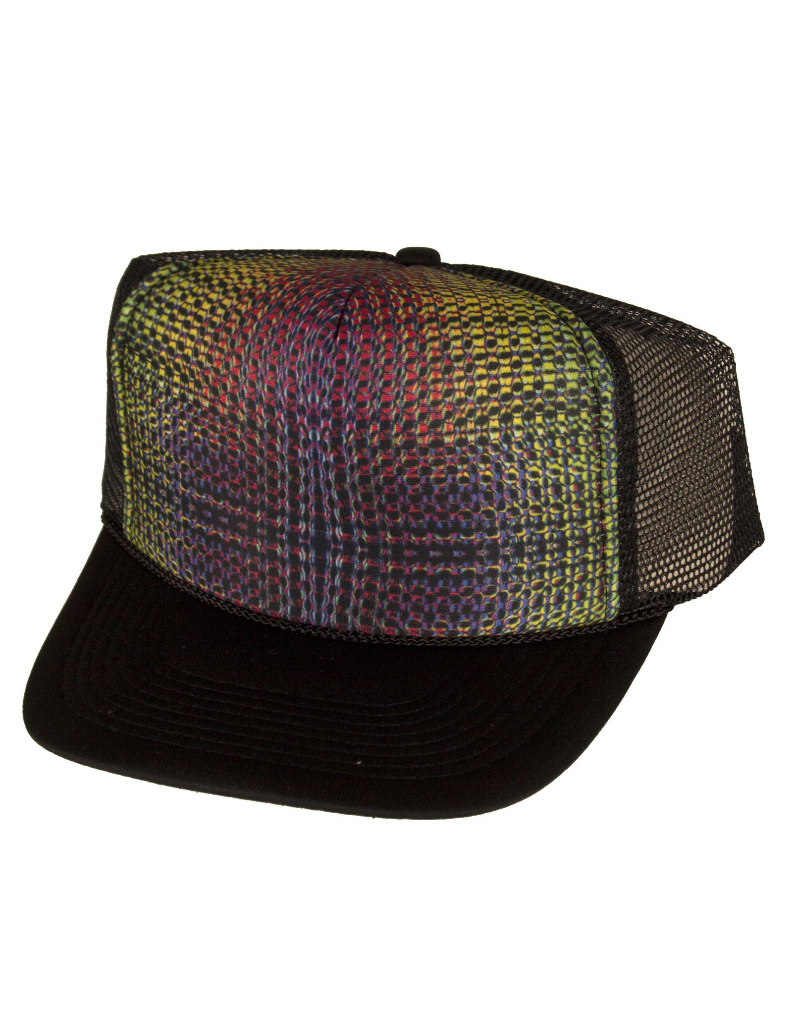 Rainbow Dragon Trucker Hat