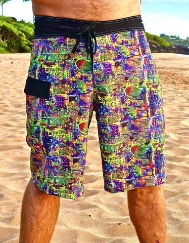 Boardshorts, Mens, ACID TEST