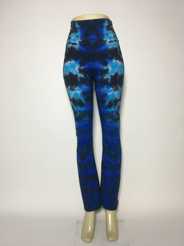 Blue Storm Yoga Pants MD