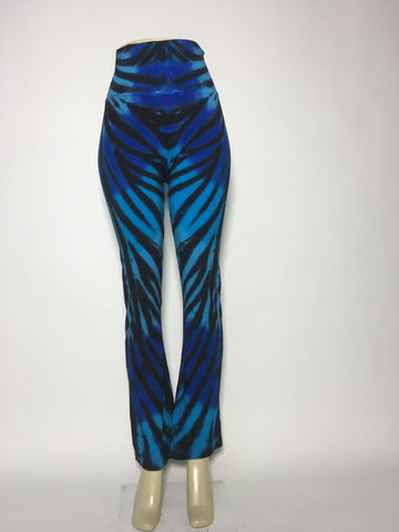 Electric Tiger Stripe Yoga Pants MD