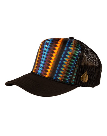 Golden Tribal Trucker Hat