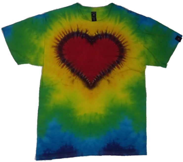 Red Heart Rainbow  L