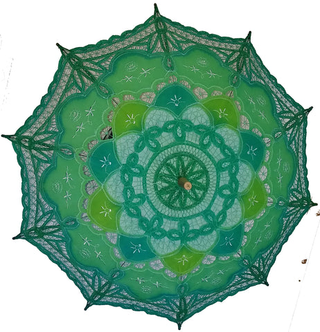 Hand Dyed Parasol #10