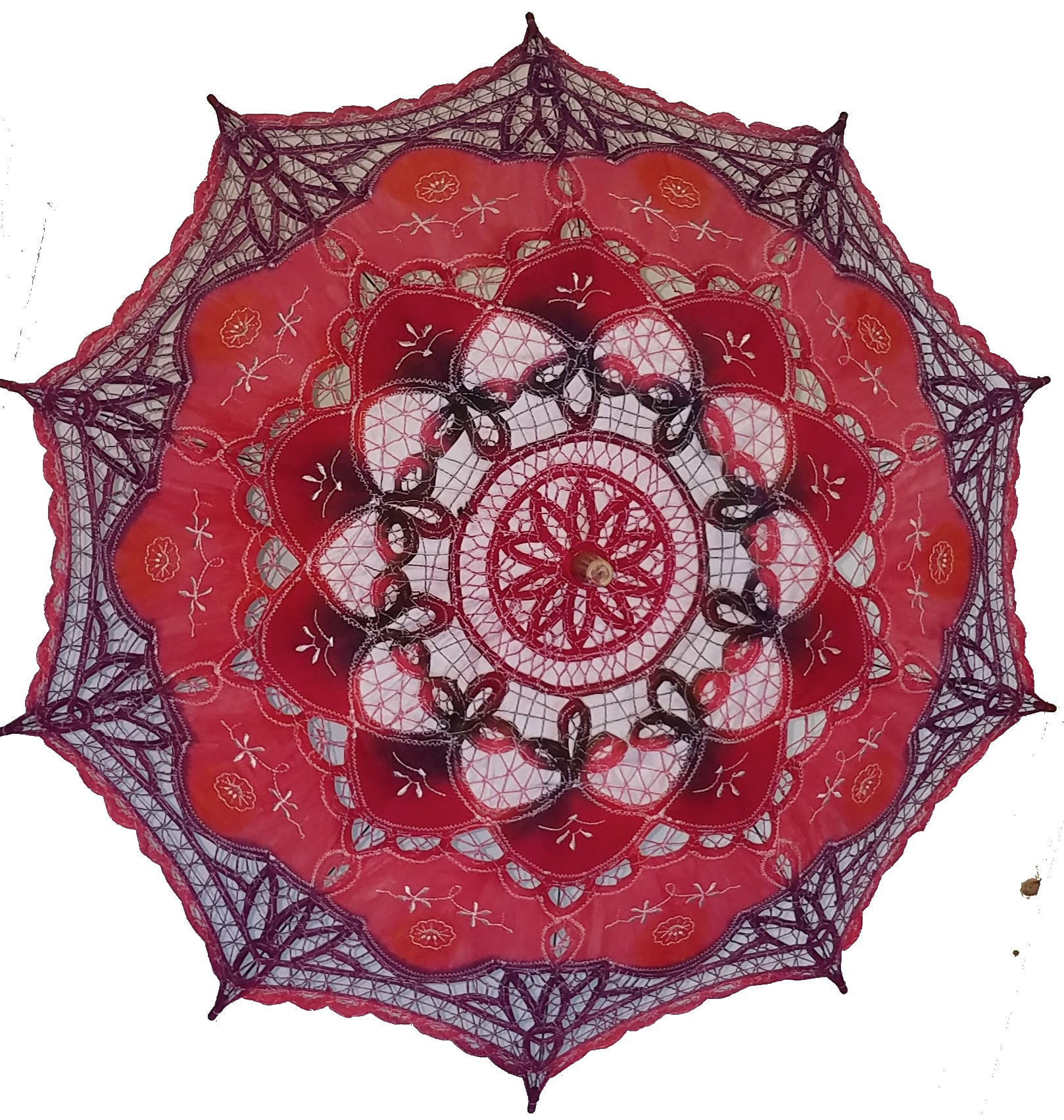 Hand Dyed Parasol #11