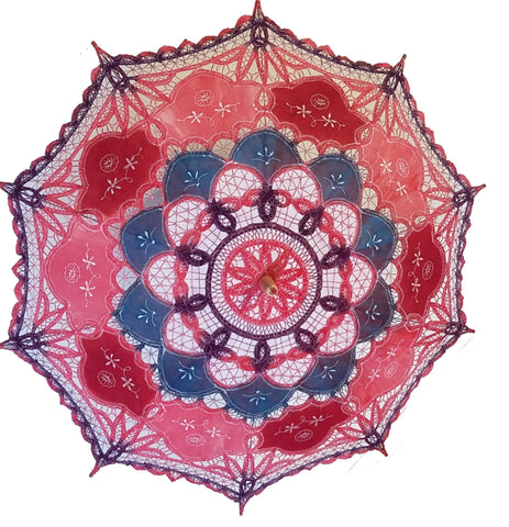 Hand Dyed Parasol #12