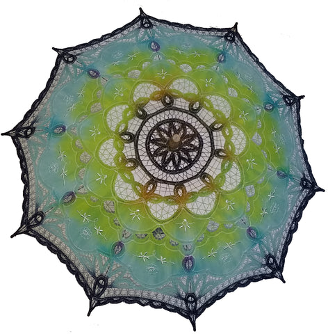 Hand Dyed Parasol #13