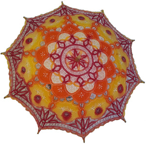 Hand Dyed Parasol #15