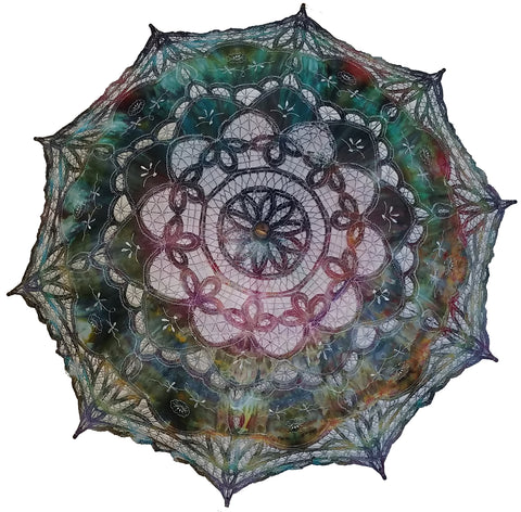 Hand Dyed Parasol #17