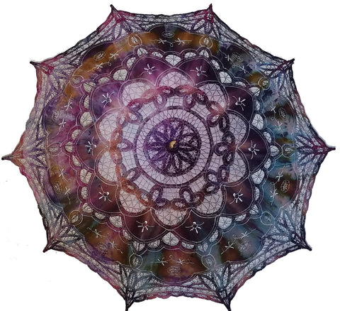 Hand Dyed Parasol #18
