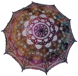 Hand Dyed Parasol #19
