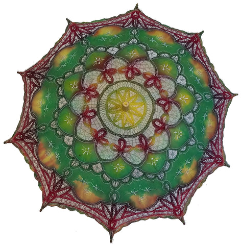 Hand Dyed Parasol #20