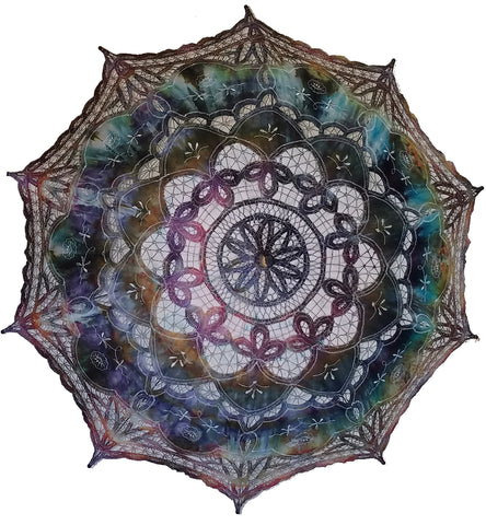 Hand Dyed Parasol #24