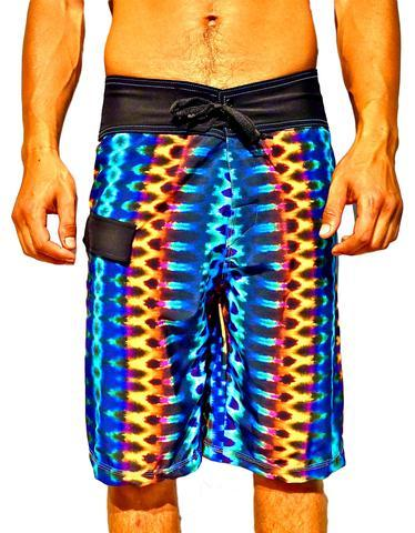 Boardshorts, Mens, GOLDEN TRIBAL