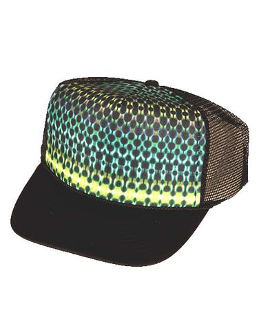 Green Scales Trucker Hat