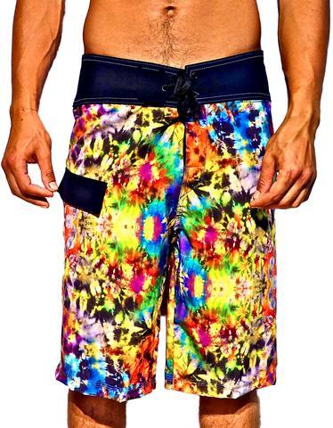 Boardshorts, Mens, HAWAIIAN CRUNCH
