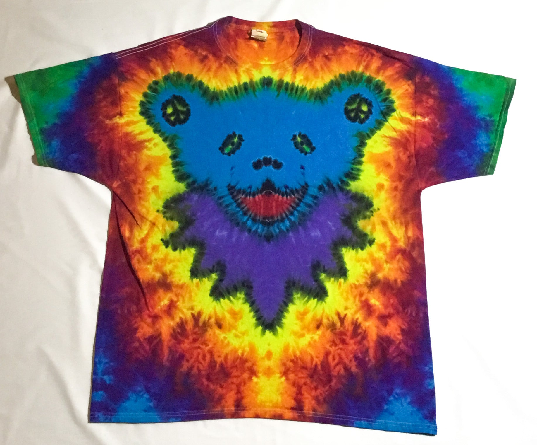 Blue Peace Jammin Bear 2X