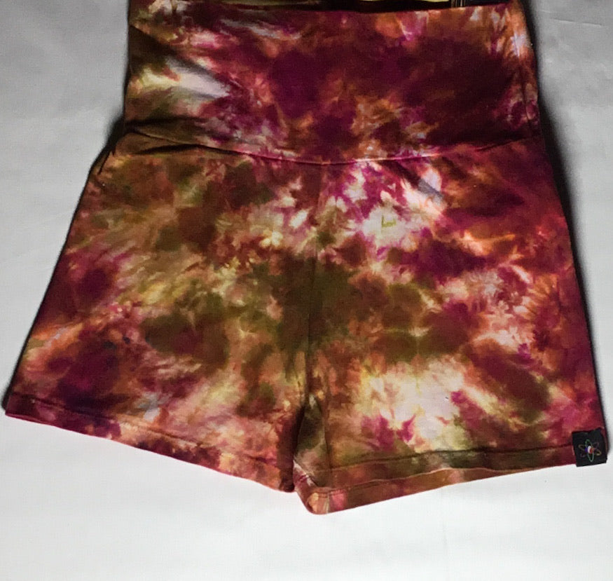 Earth Tone Nebula Booty Shorts XL