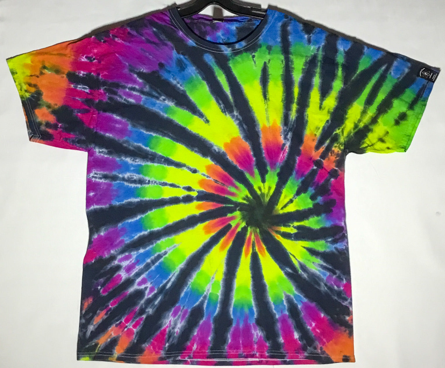 Black Rainbow Spiral XL