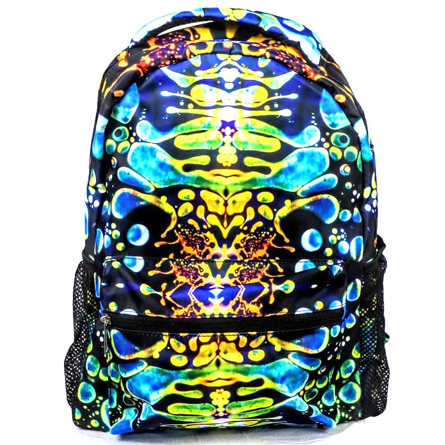 Liquid Lights Back Pack