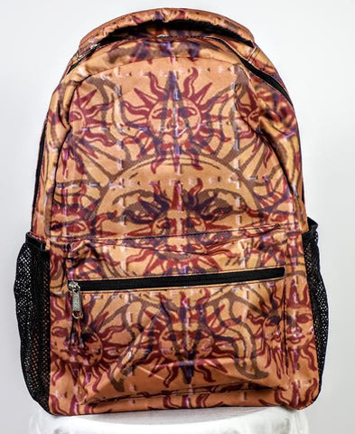 Orange Sunshine Back Pack