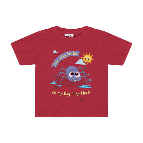 Itsy Bitsy Spider Toddler Tee - 4 Colors