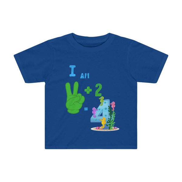 4th Birthday Toddler Tee