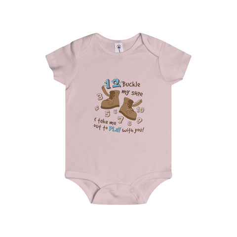 Number Song (1,2..10) Infant Onesie - 3 Colors