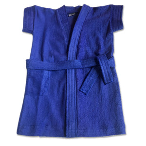 Bathrobe for babies & toddlers - Royal Blue