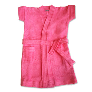 Bathrobe for babies & toddlers - Pink