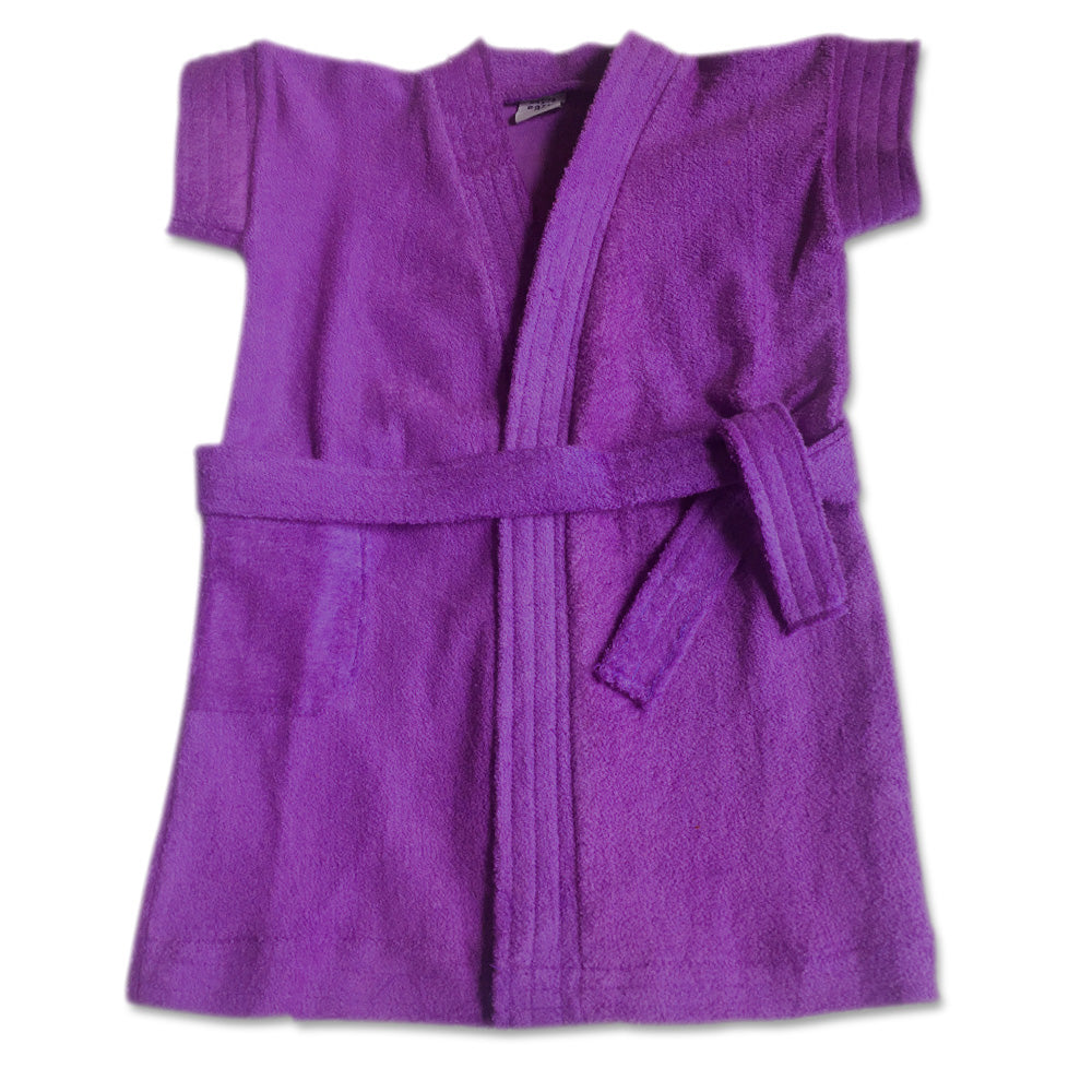 Bathrobe for babies & toddlers - Purple