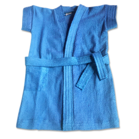 Bathrobe for babies & toddlers - Blue