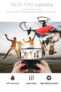 RC Drone 8810 6 Axis GYRO 2.4GHz With 720 HD Camera RC Quadcopter Headless Mode / 360°Rolling Remote Controller/ 3D Flip/ Foldable