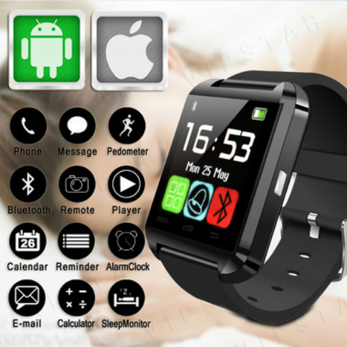 Kanstar Brand N8 Bluetooth Android IOS Digital Smart watches