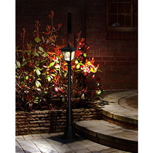 "Kanstar 42"" Solar Powered Mini Vintage Street Lamp Post (pack of 1)"
