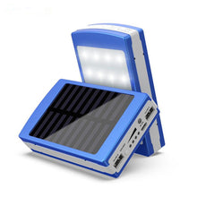 Kanstar 20 LED Light Dual USB Portable Solar Battery Charger Power Bank for Cell Phone, Ipad