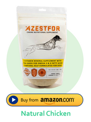 Azestfor chicken flavor dog food vitamins