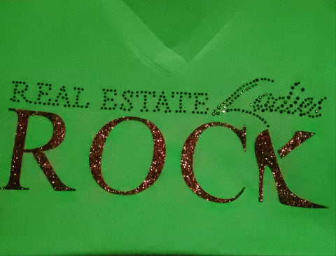 Real Estate Ladies Rock Color Shirts