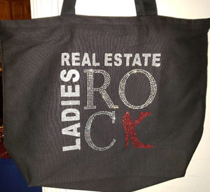 New Large Black Tote