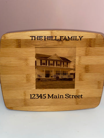 New !!! Personalized cutting boards