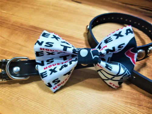 Houston Texans Pet Bow Tie