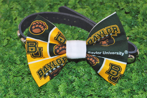 Baylor Bears Pet Bow Tie