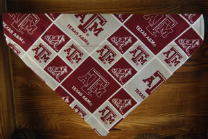 Texas A&M University Aggies Dog Bandana