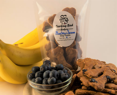 Banana Blueberry Dog Treats