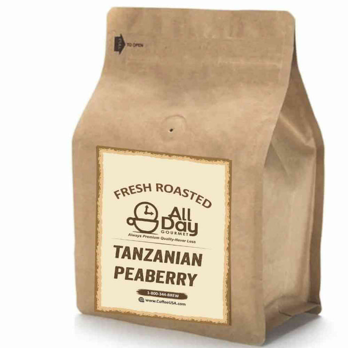 Fresh Roasted - Tanzanian Peaberry