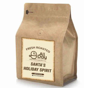 Santa's Holiday Spirit - Fresh Roasted