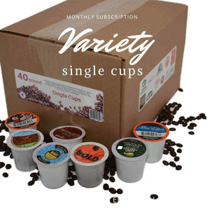 Monthly - Variety of K Cups