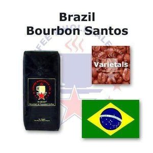 Fresh Roasted Brazil Bourbon Santos