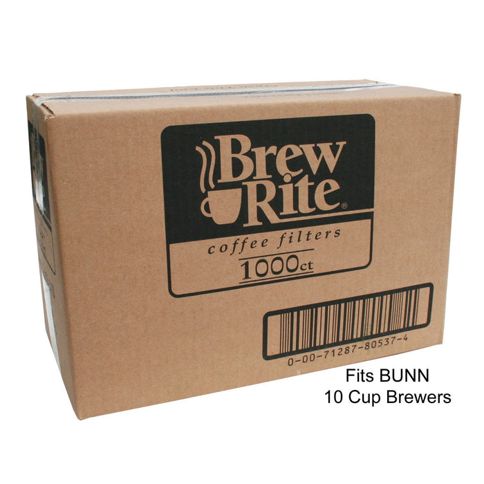 Brew-Rite Coffee Filters (Bunn-Style) - Home - 8 to 12 Cup - 1,000 Count
